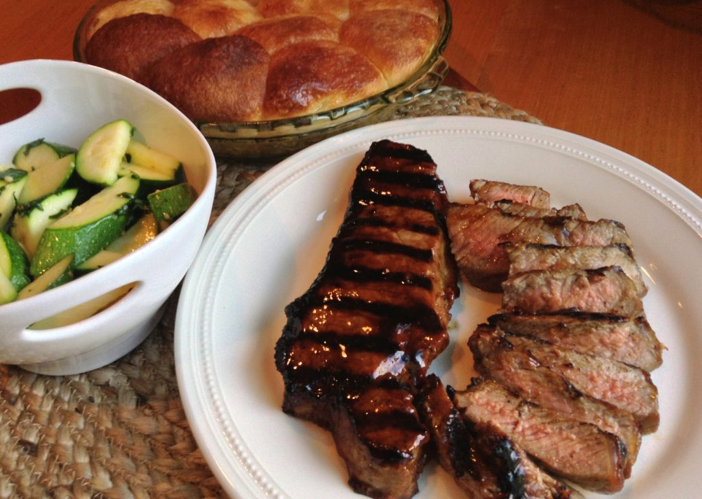 Restaurant Style Strip Steaks_Crop_Color