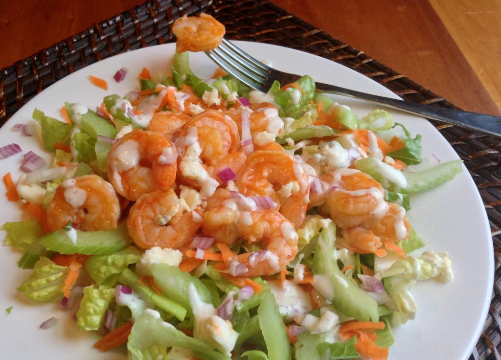 Buffalo Shrimp Salad_Crop_Color