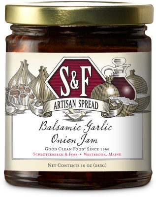 S&F Balsamic Garlic Onion Jam