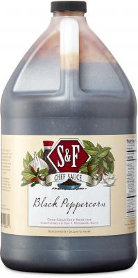 S&F Black Peppercorn Food Service Sauce