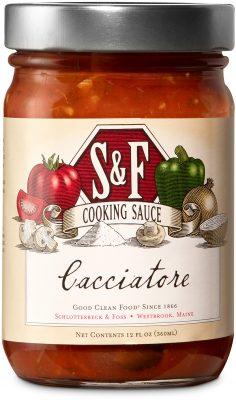 S&F Cacciatore Cooking Sauce
