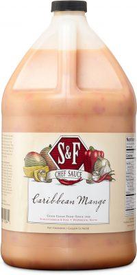 S&F Caribbean Mango Food Service Sauce