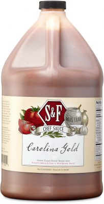 S&F Carolina Gold BBQ Food Service Sauce