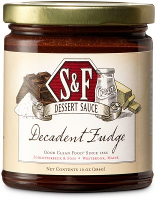 S&F Decadent Fudge Dessert Sauce