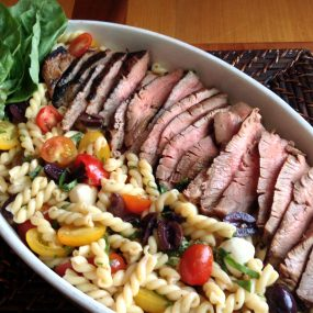 Grilled Steak & Pasta Salad Recipe
