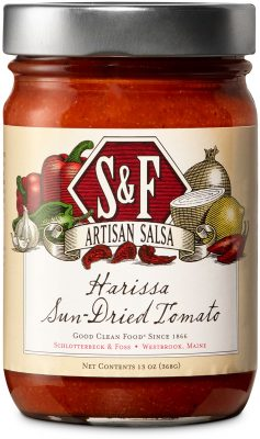 S&F Harissa Sun-Dried Tomato Salsa
