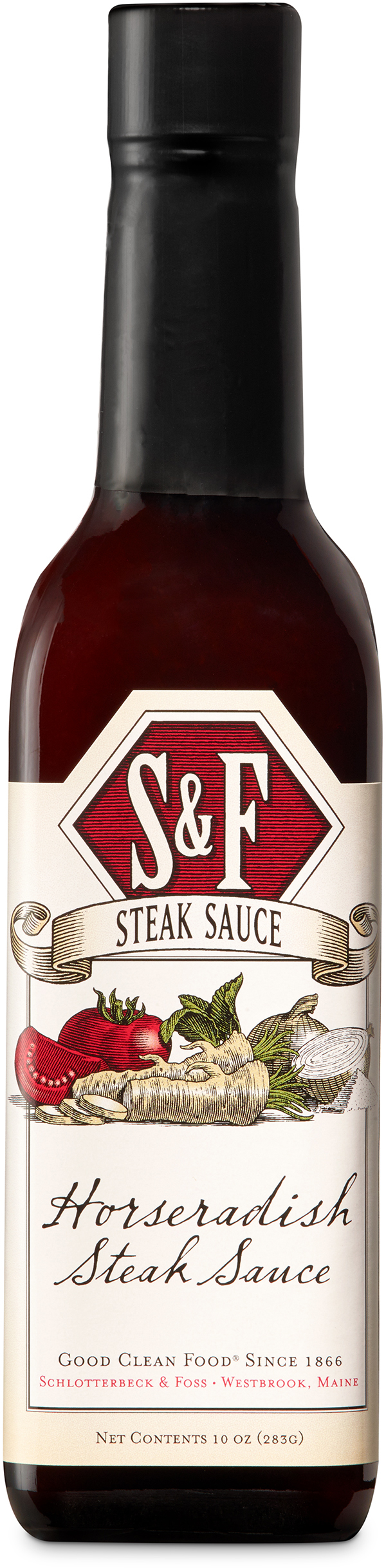 Horseradish Steak Sauce Meat Condiments Schlotterbeck Foss