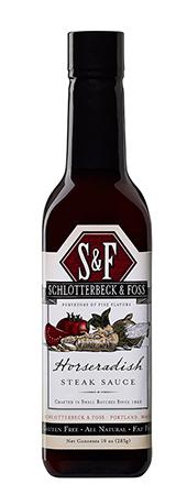 S&F Meat Condiments Horseradish Steak Sauce