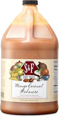 S&F Mango Coconut Habanero Food Service Sauce