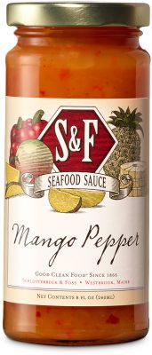 S&F Mango Pepper Seafood Condiment