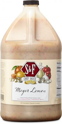 S&F Meyer Lemon Food Service Sauce