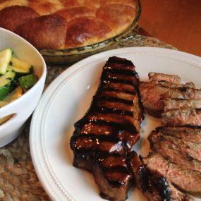 Restaurant Style Strip Steak Recipe