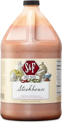 S&F Steakhouse Food Service Sauce