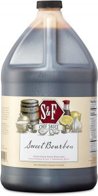 S&F Sweet Bourbon Food Service Sauce