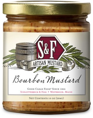 S&F Sweet Bourbon Mustard