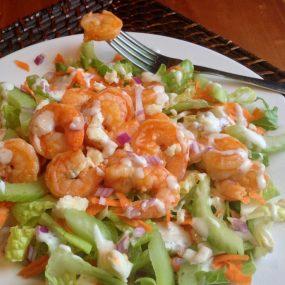 Buffalo Shrimp Salad Recipe