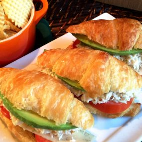 Crab and Avocado Sliders Recipe