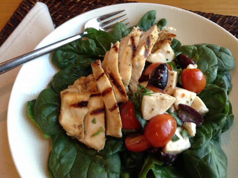 Grilled Chicken Caprese Salad Recipe