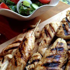 S&F Honey Mustard Chicken Skewers Recipe