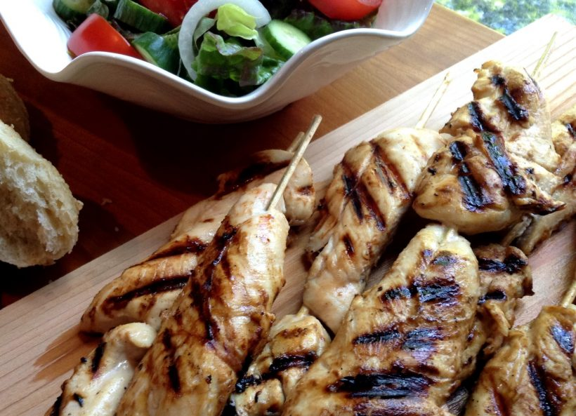 S&F Honey Mustard Chicken Skewers Recipe