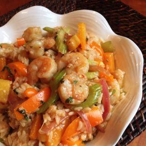 S&F Sweet Chili Shrimp Rice Bowls Recipe