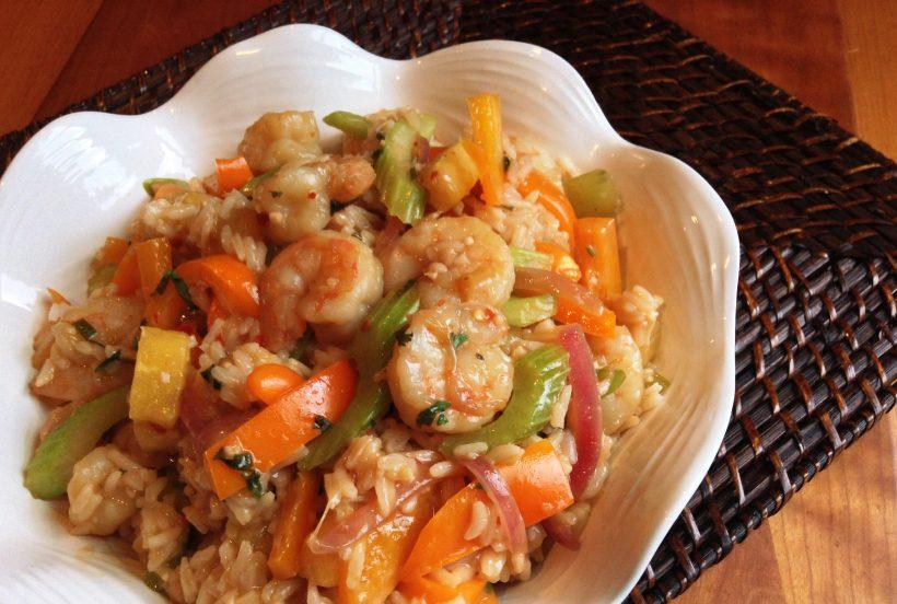 S&F Sweet Chili Shrimp Rice Bowls Recipe