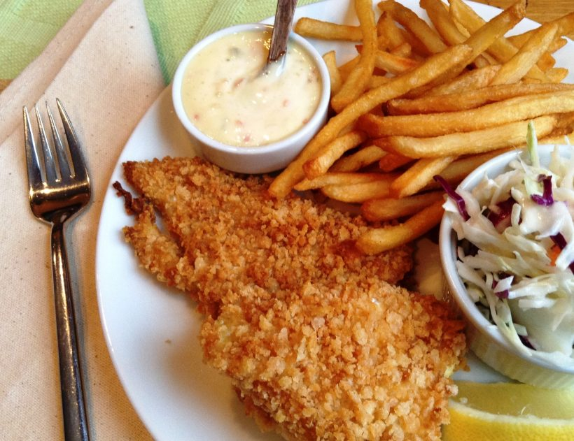 S&F Oven Fried Fish Recipe