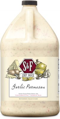 S&F Garlic Parmesan Food Service Sauce