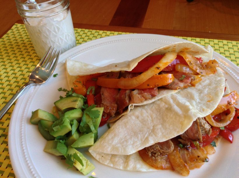 S&F Spicy Steak Fajitas