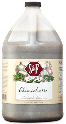 S&F Chimichurri Food Service Sauce