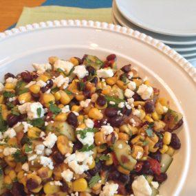 S&F Black Bean and Corn Summer Salad