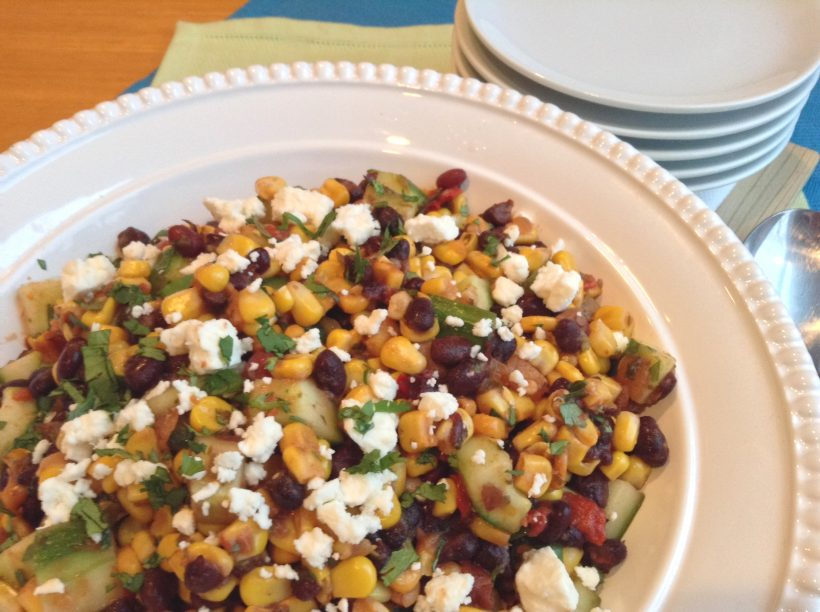 S&F Black Bean and Corn Summer Salad