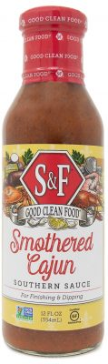 S&F Smothered Cajun Signature Sauce