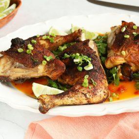 Oven Baked Jerk Chicken