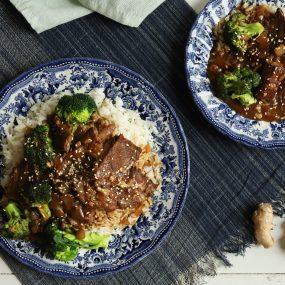 Pressure Cooker Beef & Broccoli