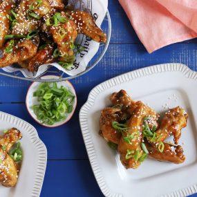 Air Fried Teriyaki Chicken Wings